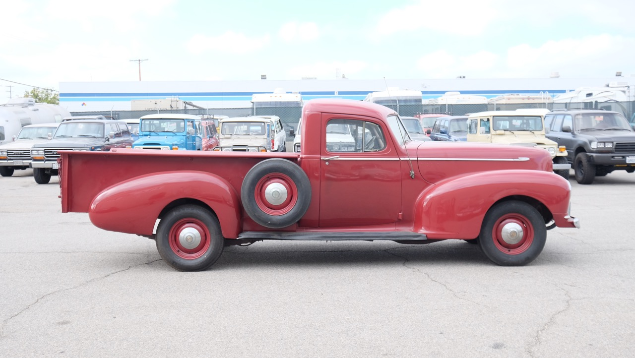 Back 1947 Hudson Boy Pick Up