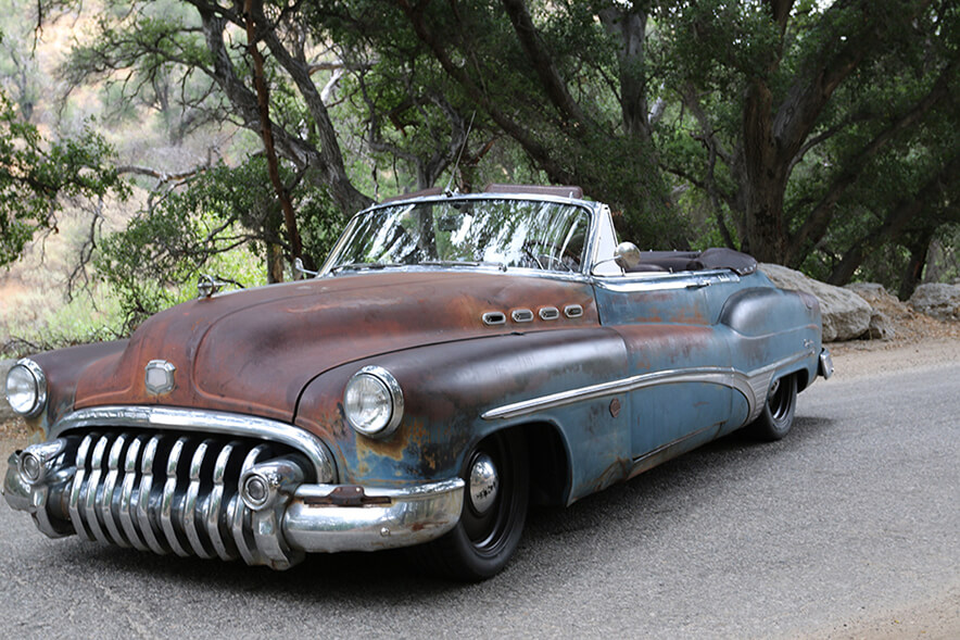 1950 Buick Roadmaster ICON Derelict