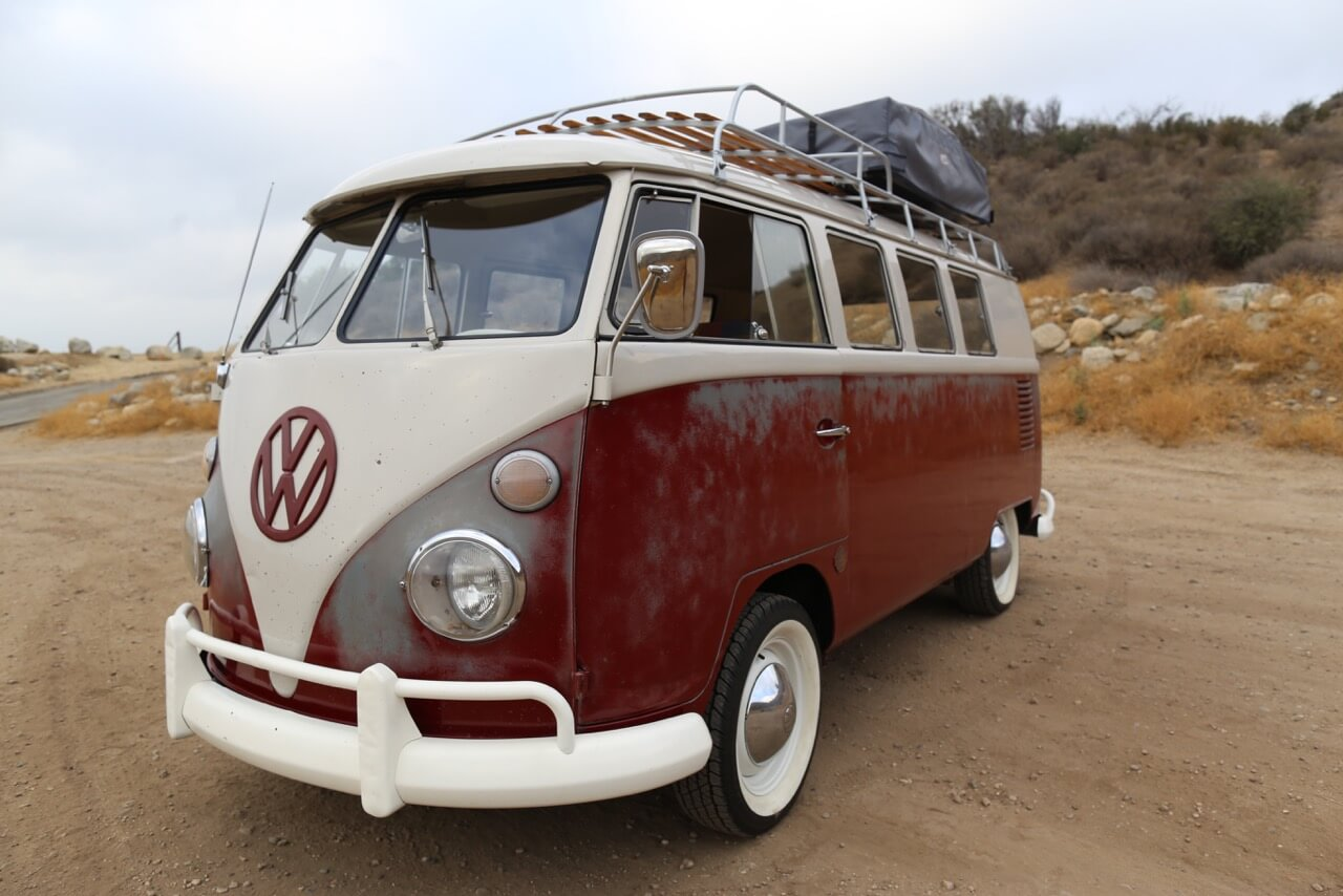 1967 Split Window VW Bus ICON Derelict