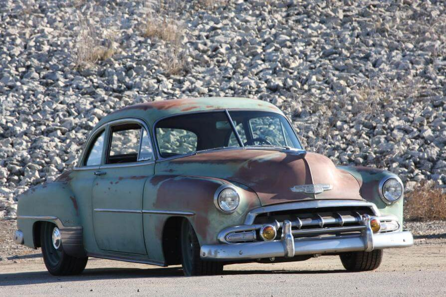 1952 Chevy Styleline Coupe Derelict