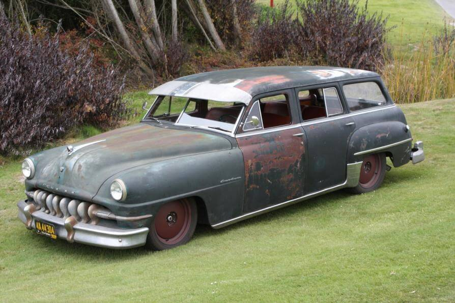 The Original ICON Derelict 1951 DeSoto Wagon