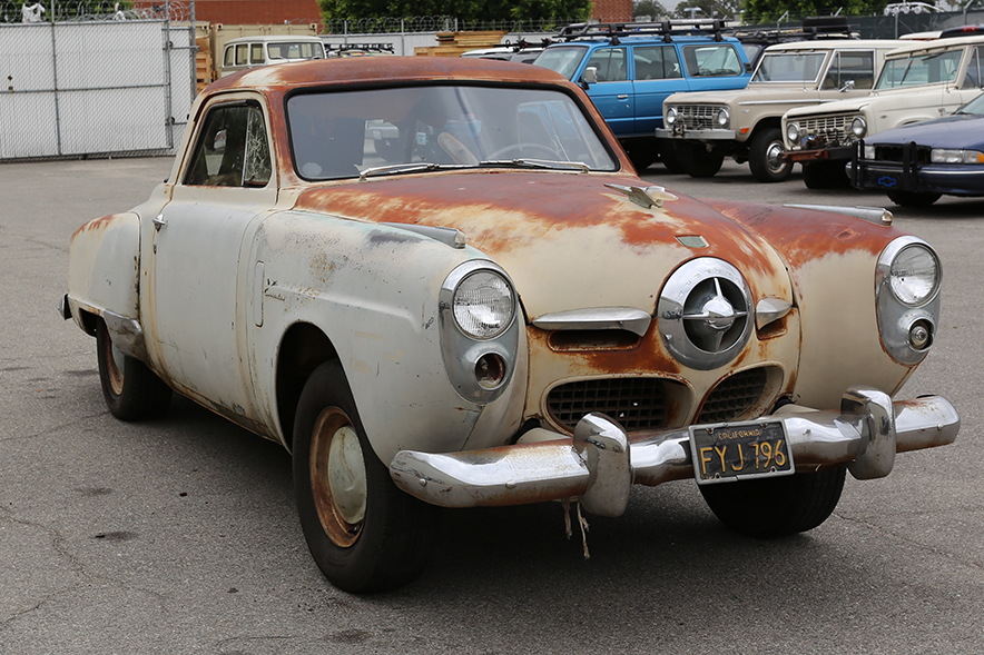 1950 Studebaker Starlight Commander Coupe