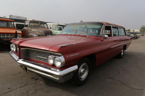 1962 Pontiac Catalina Safari Wagon!