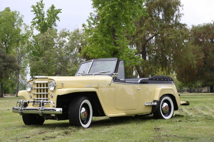 Willys Jeepster 1950 Reformer